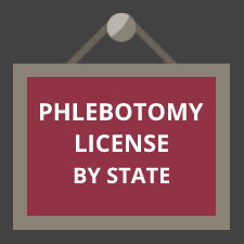 Phlebotomy License by State